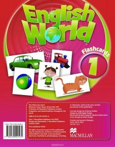 English World 1: Flashcards (набор из 158 карточек)