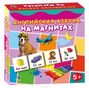 Обучающая игра Английская азбука на магнитах