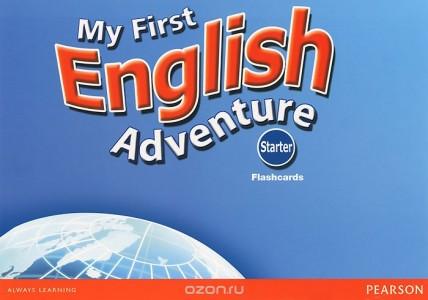 My First English Adventure 2: Starter: Flashcards (набор из 22 карточек)