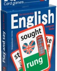 Обучающая игра Английские неправильные глаголы Уровень 2 Синий