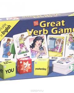 The Great Verb Game (набор из 100 карточек)