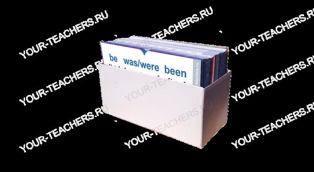 120 карточек неправильных глаголов английского языка 1A (rus-eng)