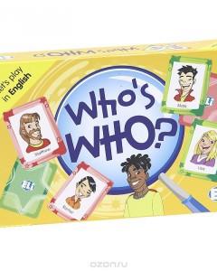 Who's Who? (набор из 66 карточек)